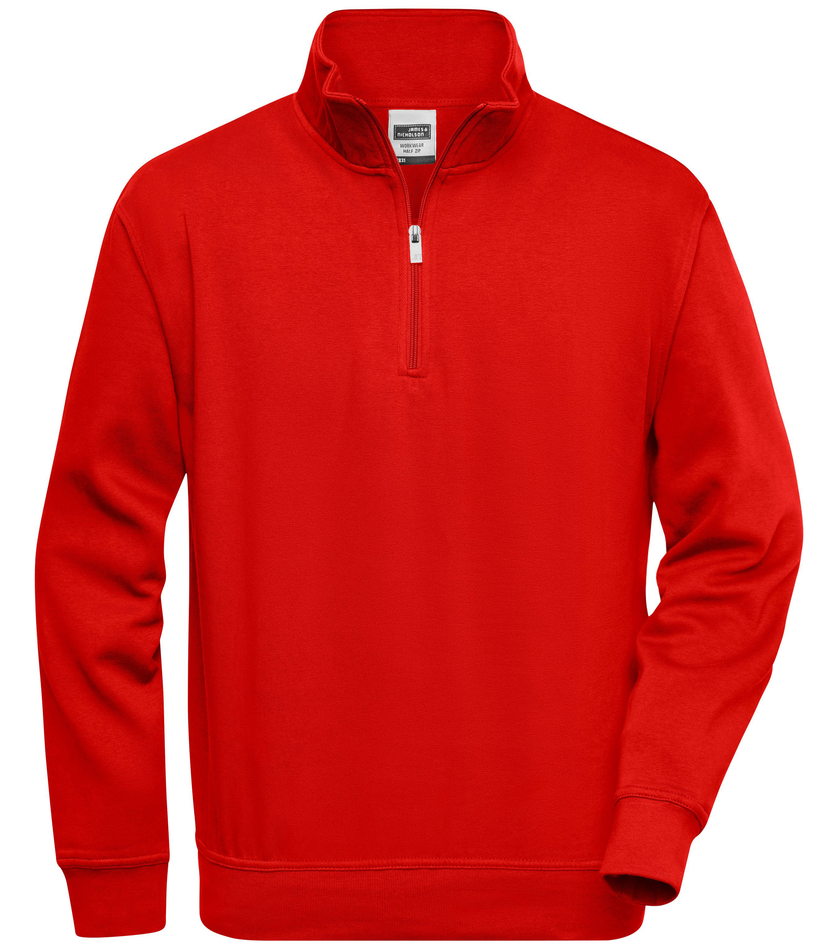 Sweater Workwear Half Zip