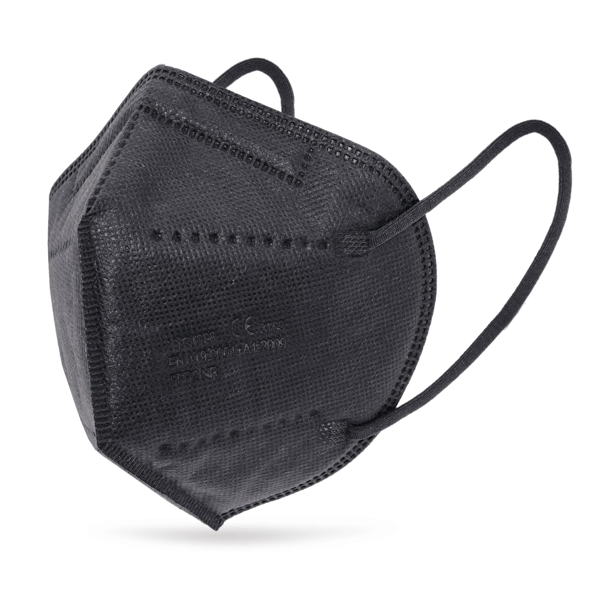 Atemschutzmaske KN95/FFP2 schwarz
