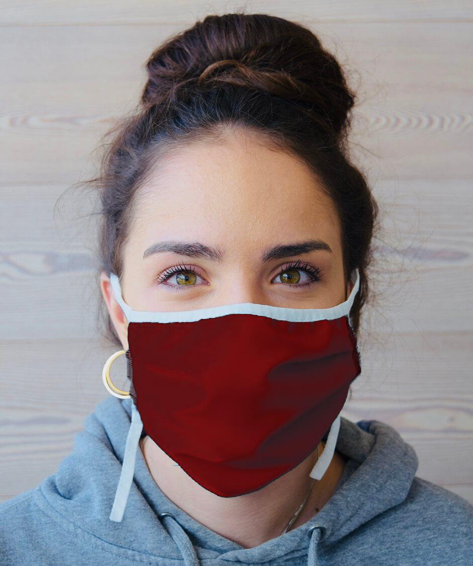 Waschbare Mund-Nasenmaske zertifiziert