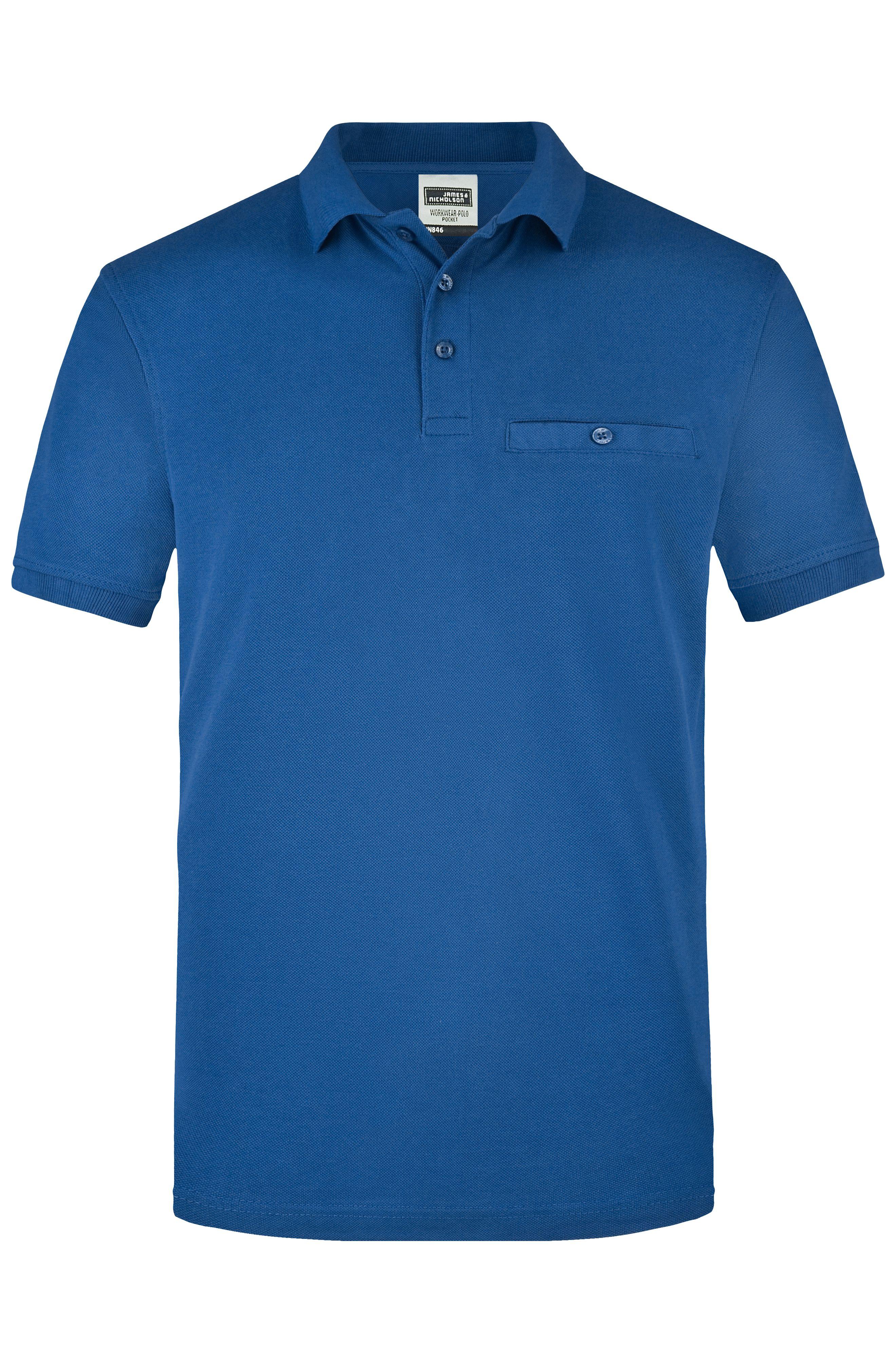 Poloshirt Workwear Pocket Herren