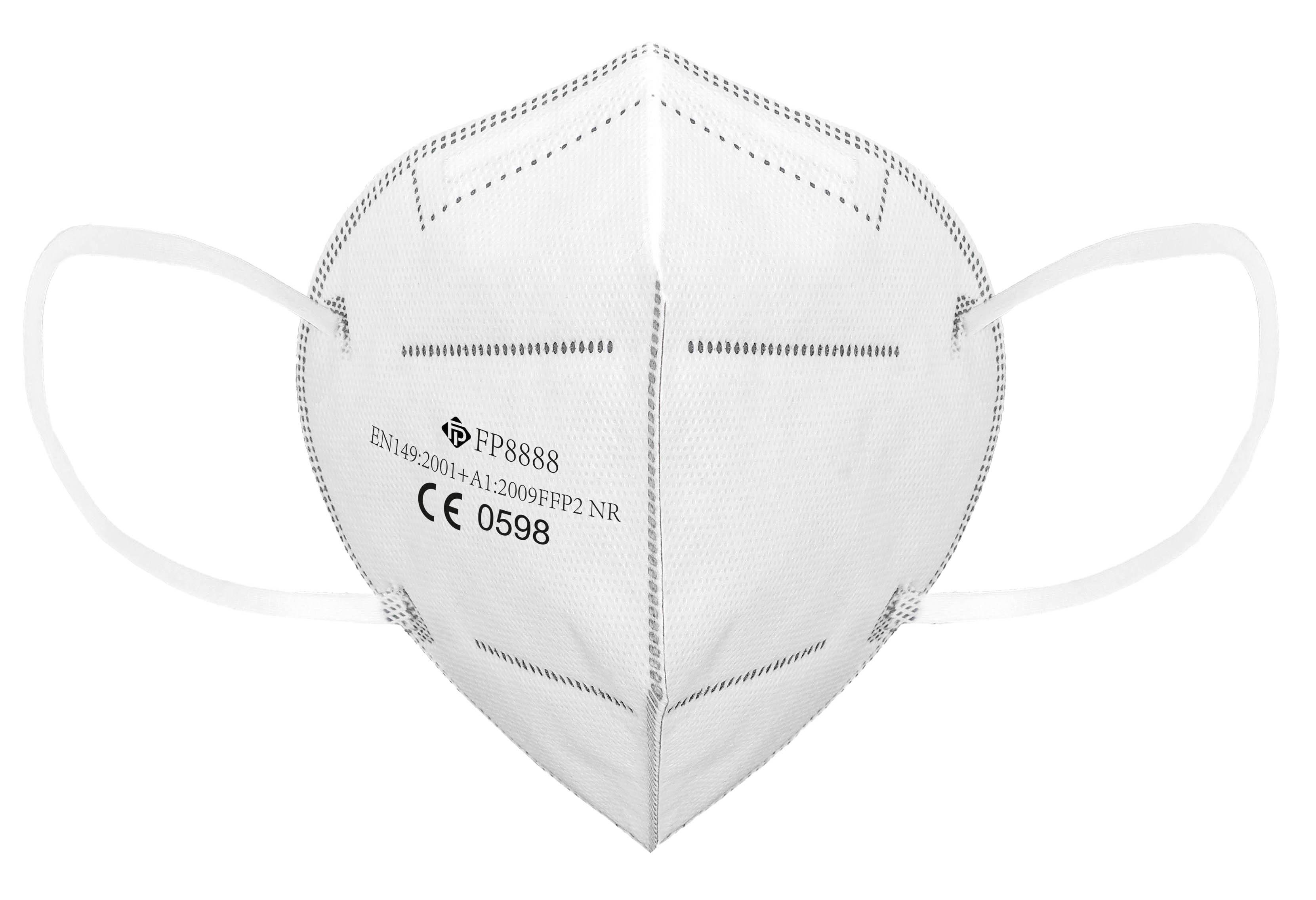 Atemschutzmaske KN95/FFP2 weiß