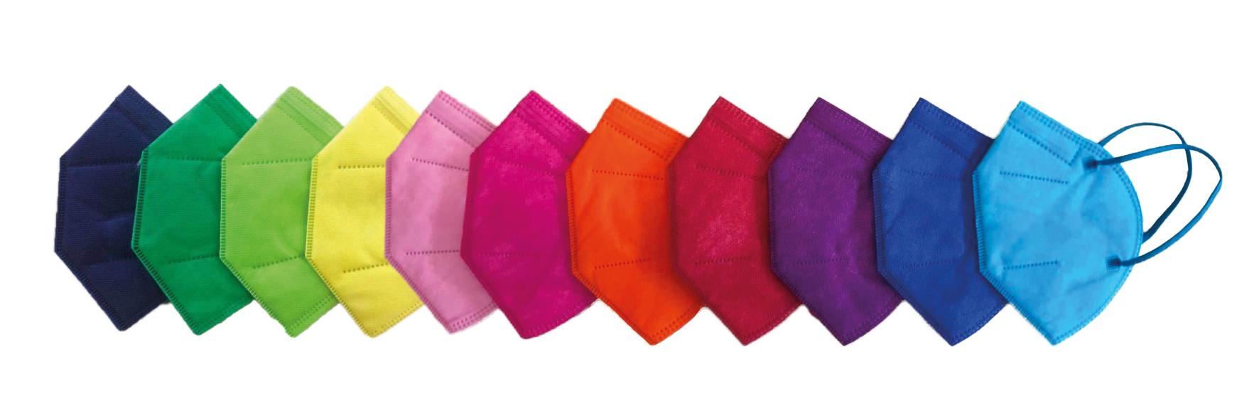 Atemschutzmaske KN95/FFP2 farbig